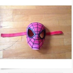 Hasbro Spider-Man Mask Black & Red 11 X 10